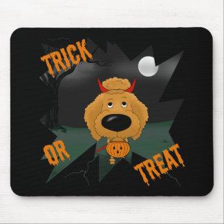 Caniche Halloween Tapetes De Ratón