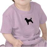 Caniche (juguete, cordero cortados) camisetas