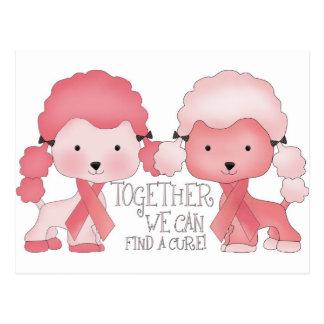 Caniche-Junto rosado podemos encontrar una Tarjetas Postales