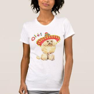 Caniche miniatura de la fiesta tee shirt