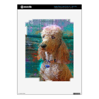 CANICHE ORGULLOSO iPad 3 SKIN
