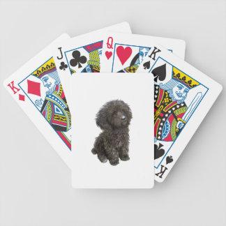 Caniche - perrito negro del juguete barajas