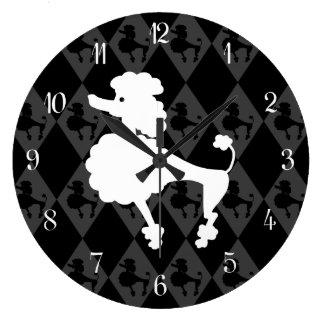 Caniche retro relojes
