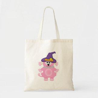 caniche rosado de los goofkins witchy bolsa tela barata