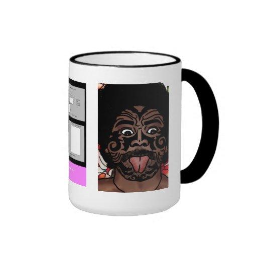 caniche rosado del fefe taza