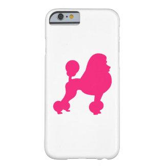 Caniche rosado funda de iPhone 6 barely there