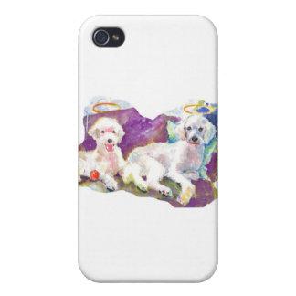 Caniches de los caniches por todas partes… con las iPhone 4 protectores