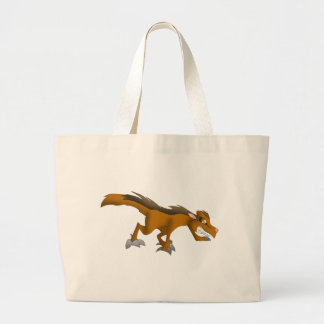 Canid Dragon Tote Jumbo Tote Bag