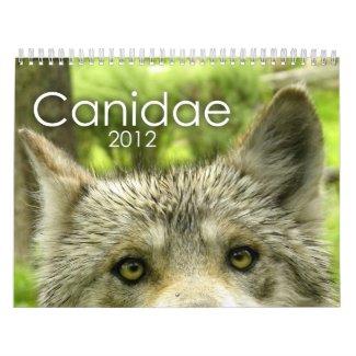Canidae 2012 Calendar calendar