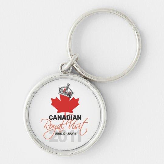 Canidian Royal Visit - William & Kate Wedding Keychain