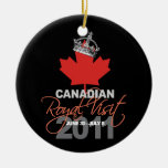 Canidian Royal Visit - William & Kate Wedding Christmas Ornaments