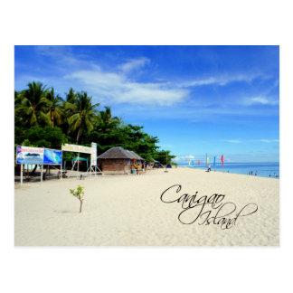 Canigao Island, Philippines Postcard
