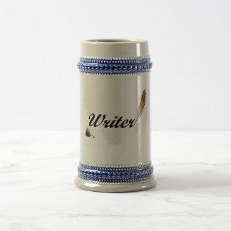 Canilla del escritor tazas de café
