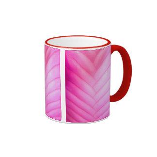 Canilla rosada Bromeliad Taza De Dos Colores