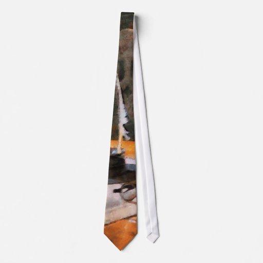 Canilla y gafas corbata