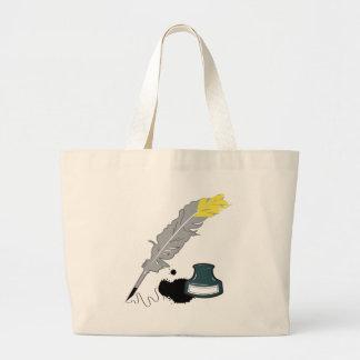 Canilla y tinta bolsa de mano
