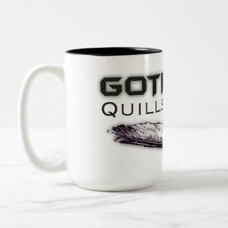 Canillas y taza de Quims - color negro Logo2