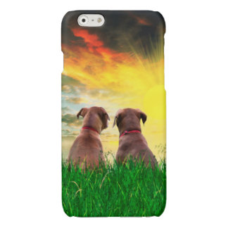 Canine Best Friends Glossy iPhone 6 Case