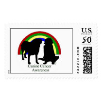 Canine Cancer Awareness Postage
