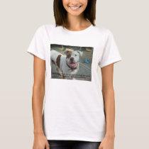 Canine cancer bites Precious T shirt