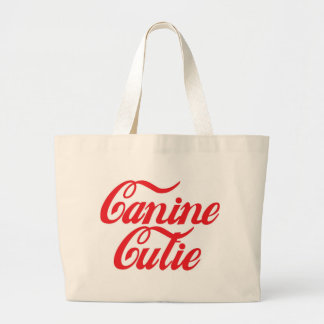 Canine Cutie Canvas Bag