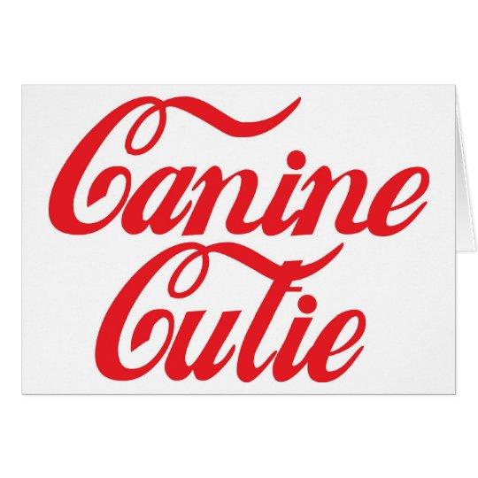 Canine Cutie Card