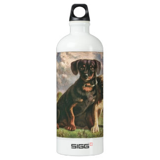 Canine Friends Aluminum Water Bottle