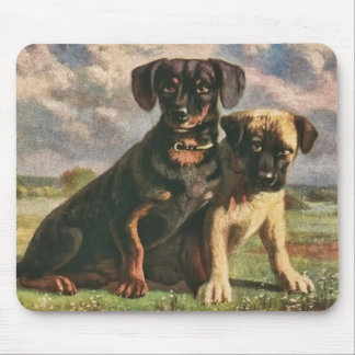 Canine Friends Mouse Pad