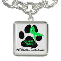 Canine Lymphoma - Cancer Bites Charm Bracelets