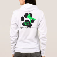 Canine Lymphoma - Cancer Bites Hoodie