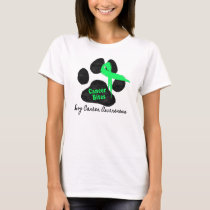 Canine Lymphoma - Cancer Bites T-Shirt