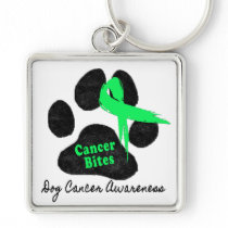 Canine Lymphoma - Pray for a Cure Keychain