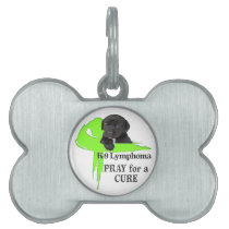 Canine Lymphoma - Pray for a Cure Pet Tag