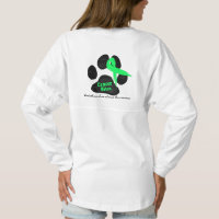 Canine Lymphoma - Pray for a Cure Spirit Jersey