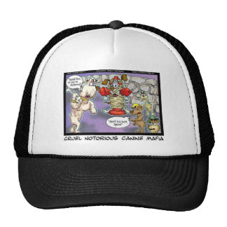 Canine Mafia Funny Tees Cards Mugs & GIfts Trucker Hat