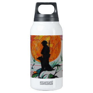Canine Moment Insulated Water Bottle