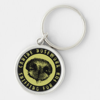 Canine Nosework, Sniffing for Fun Keychains
