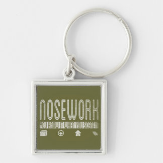 Canine Nosework: You Know it when you Scent It Keychain
