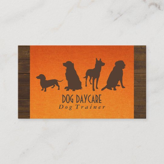 Canine pack dog training wood fabric business card zazzle canine pack dog training wood fabric business card colourmoves