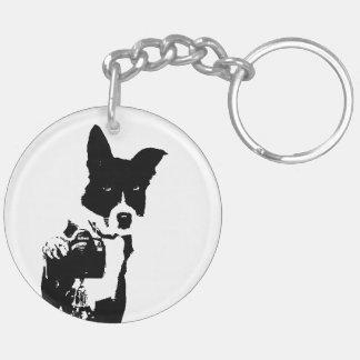 Canine Photographer Keychain
