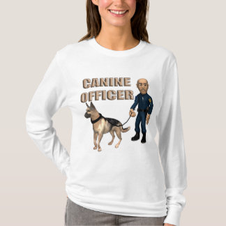 Canine Police Officer T-Shirt