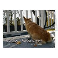 Canine Sympathy Card