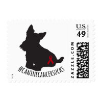 #caninecancersucks postage stamps