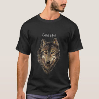 Canis Lupis  Watercolor Wolf, Wolves, Wild Animal T-Shirt