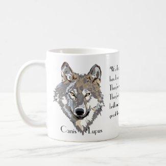 Canis Lupus 2 Coffee Mug