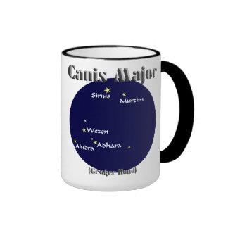 canis major dark-blue+dark red ringer mug