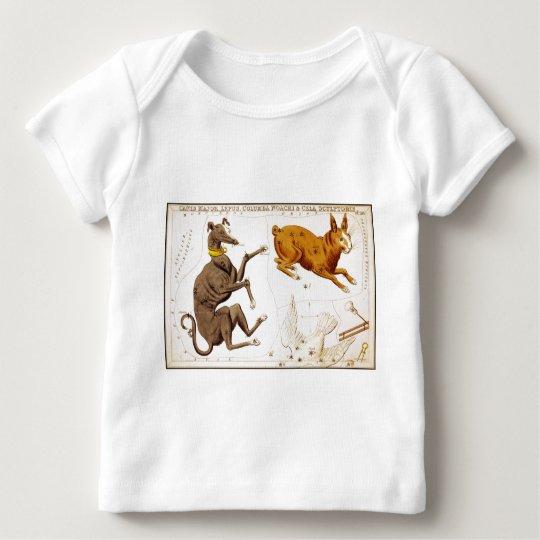 Canis Major, Lepus, Columba Noachi and Cela Sculpt Baby T-Shirt