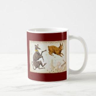 Canis Major, Lepus, Columba Noachi & Cela Sculptor Coffee Mug