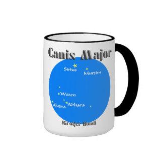 canis major light blue ringer mug
