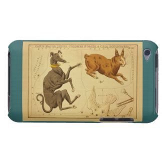 Canis Major Vintage Astronomical Star Chart Image Case-Mate iPod Touch Case